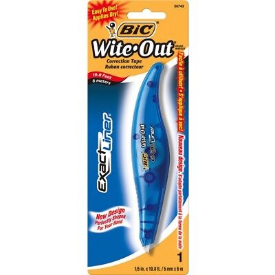 Wite-Out Exact Liner Brand Correction Tape WOELP11