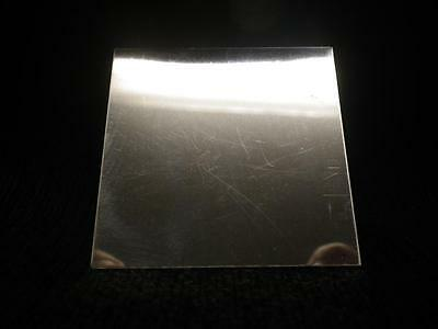 925 Solid STERLING SILVER Sheet Metal 26 Gauge 2x2 Inch 100% RECYCLED USA MADE