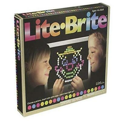 @New@ Basic Fun Lite Brite Magic Screen Toy Game Kids Play Gift Christmas Gift