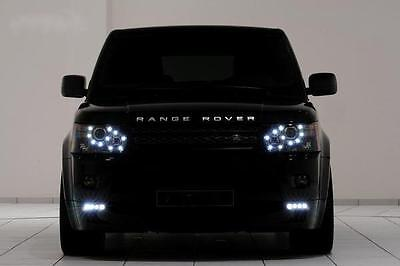Range Rover Sport 2005-2010 Custom Headlight Upgrade - LED DRL's Halo Angel Eyes