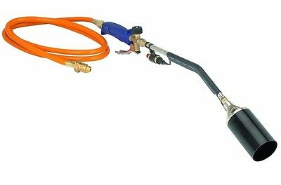NEW Push Button Igniter Propane Torch Wand Ice Snow Melter Weed Burner Roofing
