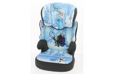 Disney Frozen Group 2/3 Highback Booster Car Seat Height Adjustable Head - Blue
