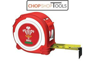 Advent ADV45025WRFU Official Welsh Rugby Tape Red / White 5m/16ft (Width 25mm)