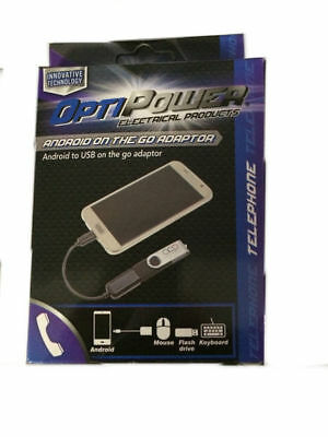 opti power on the go adaptor for android white & black  but 1 get 1 free