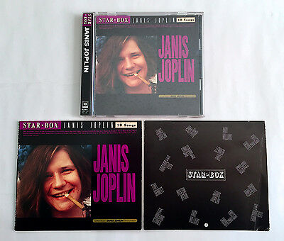 JANIS JOPLIN Star Box JAPAN EDITION CD 1989 25DP-5501 w/Booklet & Calendar