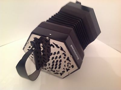 Boorinwood 30 Button Metal End Concertina C/G - Italian Reeds  CLOSING SALE £525