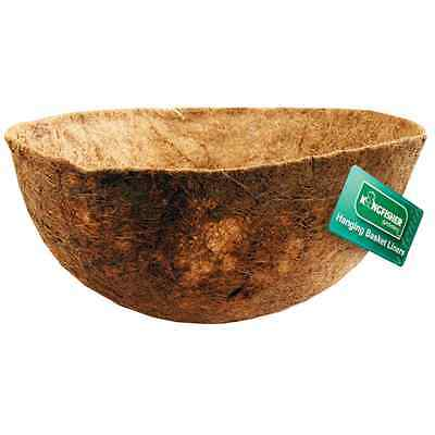 12in (30cm Shaped Coco Hanging Basket Liner For Use With 12in Hanging Baskets