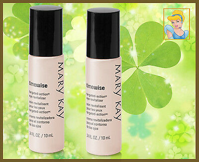 Lot of 2 Mary Kay 2 Revitalizador de Ojos TimeWise Targeted-Action