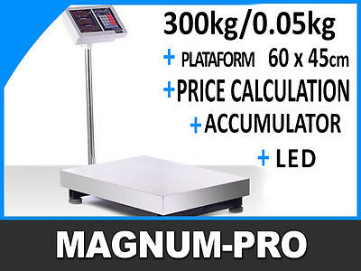 Platform Parcel Postage Scale 300kg / 50g  scale weighing, warehouse, industrial