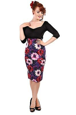 Collecti Vintage Fiona Winter Floral Skirt
