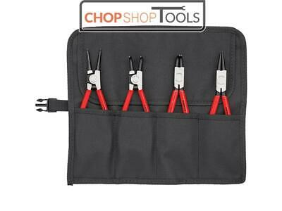 Knipex KPX001956 Circlip Pliers Set in Roll 4 Piece