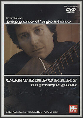 Peppino D'Agostino Contemporary Fingerstyle Guitar Performance DVD