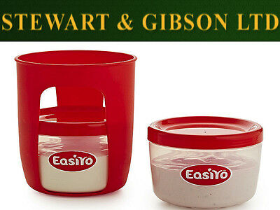 EasiYo Basket and Jars for Original 1kg Yogurt Maker makes two 500g flavours