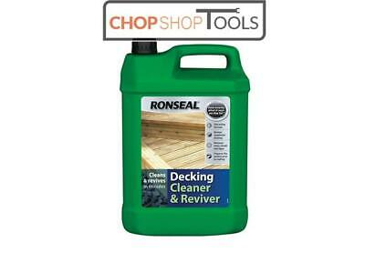 Ronseal RSLDC Decking Cleaner & Reviver 5 Litre