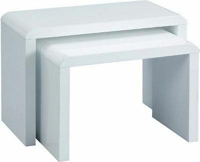 HomeTrends4You 510950 Table console Blanc bois [Blanc] - Home Trends  NEUF
