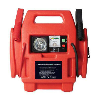 12V Power Pack Car Engine Starter Jump Start Battery Booster Plus Air Compressor