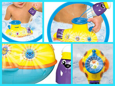 TOMY See Under The Sea Submarine 6 Sounds Light Up BathTime Baby Toddler Toy