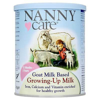 NANNYcare® Goat Milk Based Growing-Up Milk 12 Months - 3 Years 400g