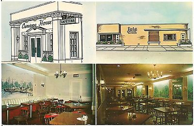 Carriage House Restaurant in Erie PA Postcard
