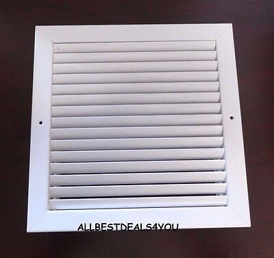Titus 23RL Steel Return Duct Vent Grille Industrial Diffuser 20 x 20 ~ White