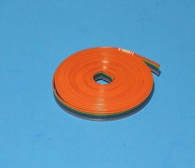 IDC Color Cable Ribbon Cable Roll 12 Feet 6-Pin, From USA