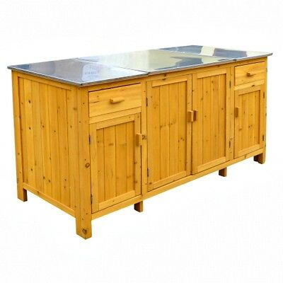 Leisure Season  Buffet Server With Cooler Compartment (model BS1536)