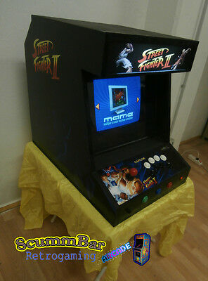 Middlecab Mamecab Street Fighter 2 - Table Arcade Cabinet Mamecab - Nuovo / NEW