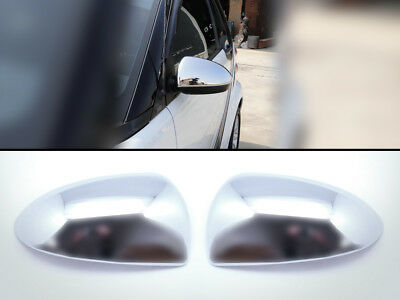 Exterior Chrome Door Mirror Caps Covers Fits SMART 451 Fortwo 2007-2014