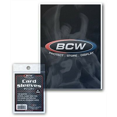 PROTECTIVE TRADING CARD SLEEVES x 500 SLEEVE pack
