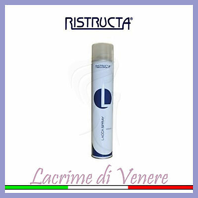 Ristructa Lacca Spray 500 Ml Strong Fissaggio Professionale