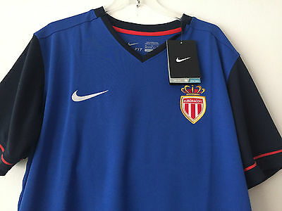 AS Monaco Nike maillot adults blue away football shirt Size M & L 2014 - 2015