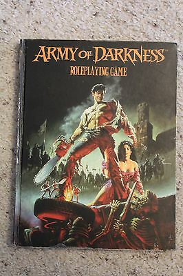 Army of Darkness Roleplaying Game hardback USED rulebook Eden Studios Inc.