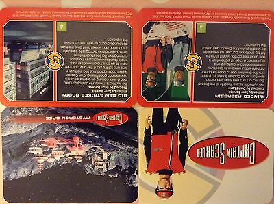 Captain Scarlet: Printers Proof Cards: Complete Base Card Set