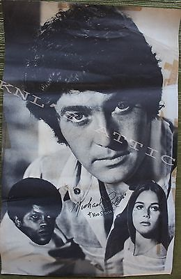 """Vintage 11""""x17"""" Michael Cole and The Mod Squad Poster  *RARE*"""