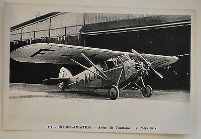 carte postale aviation POTEZ 36 istres aviation n°379 #23