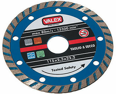 Disque diamant 230 mm Turbo Valex