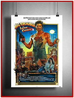 Big Trouble In Little China Vintage Style Giant Poster (RX0440