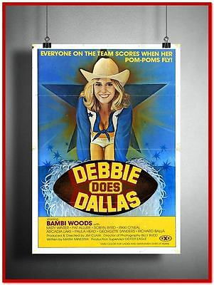 Debbie Does Dallas Vintage Style Giant Poster (RX1063