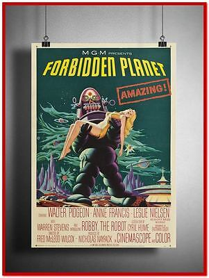 Forbidden Planet Vintage Style Giant Poster (RX1545