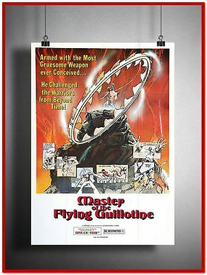 Master Of The Flying Guillotine Vintage Style Giant Poster (RX2731