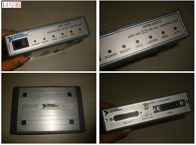Used National Instrument NI GPIB-232CT RS-232 to GPIB Interface Controller