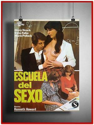 School Of Sex Vintage Style Giant Poster (RX3622