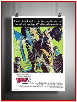 Twisted Nerve Vintage Style Giant Poster (RX5583