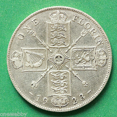 1923 - George V - Florin / Two shillings - SNo30916