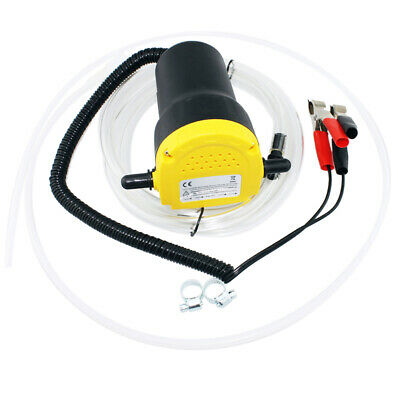 12V Transfer Pump Extractor Oil Fluid Diesel Electric 60w Siphon Car Vans