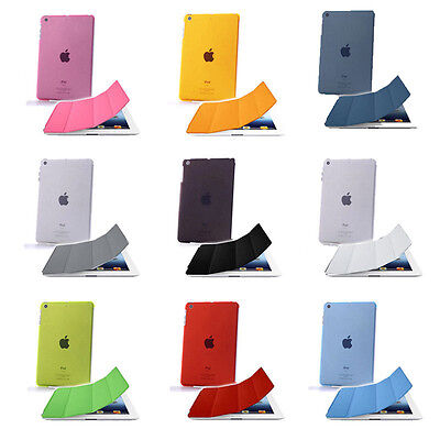 Custodia Smart Cover con Back Case Apple iPad 2/3/4, Mini, Air e Air2