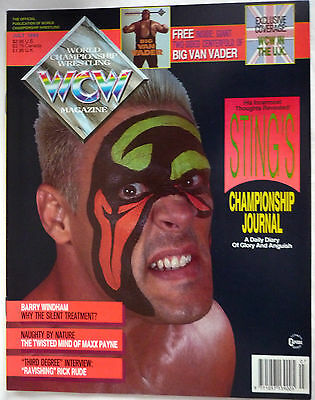 Wcw Magazine July 1993 / Doublesided Big Van Vader  Poster