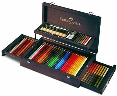 Faber-Castell 110086 - Valigetta in legno Art & Graphic Collection