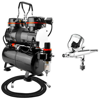 TC90T Airbrush Compressor 2 Switches ROYAL 130 Airbrush and Hose