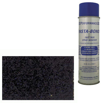 "Install Bay AC301-5 40"" X 5 Yards Quality Black Automotive Carpet Spray Adhesive"